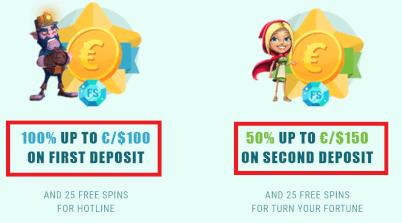 bekijk bonussen