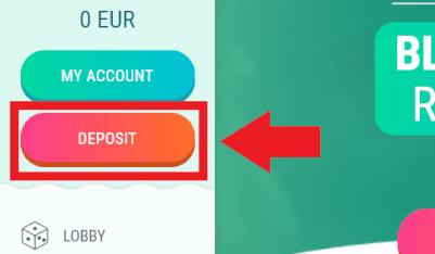 deposit geld