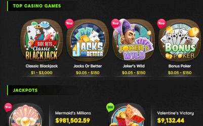 kies uit top casino games