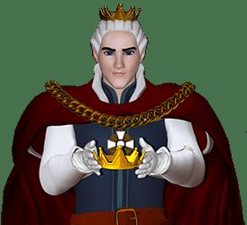 Vecht voor King Billy in het casino