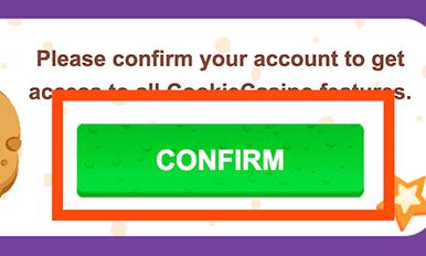 Activeer je account per mail